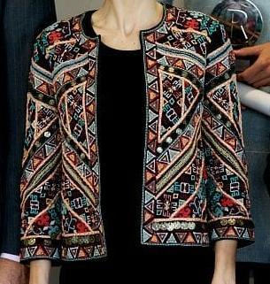 Full Embroidery Jacket