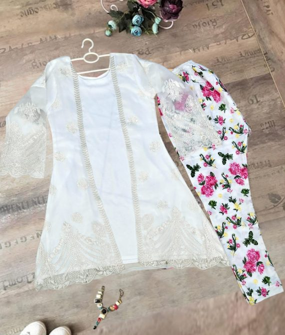 Embroidery 2 pcs suit